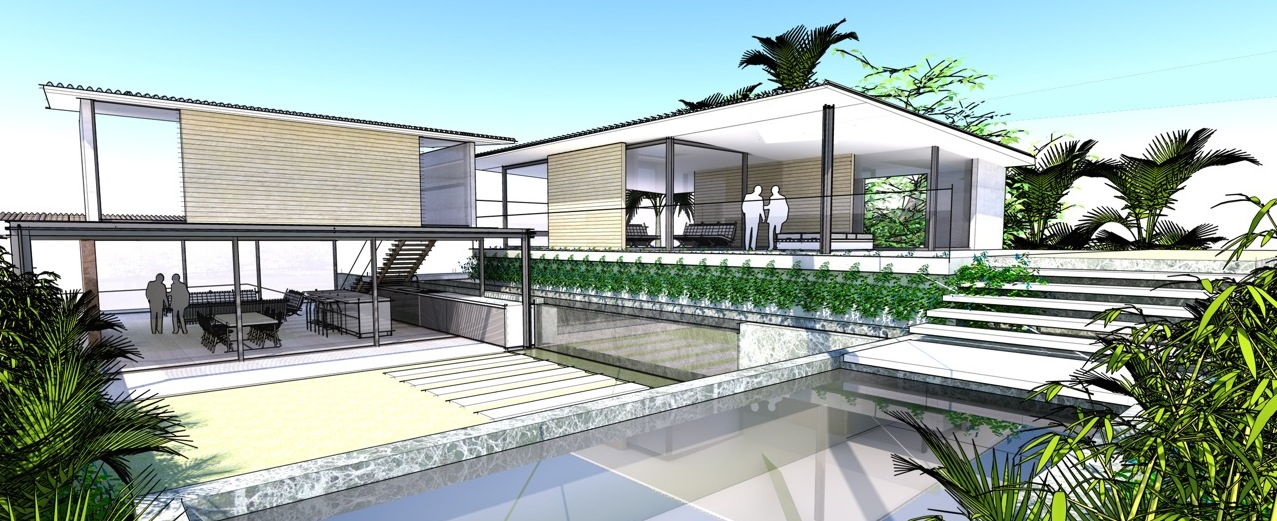 Northern Beaches Designs - Home Design - Approach